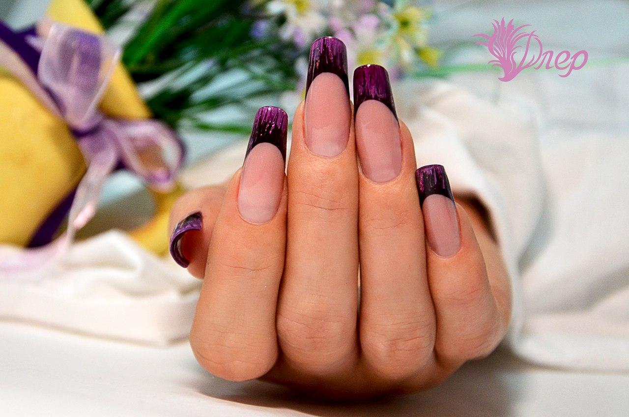 Фото и дизайн арочных ногтей