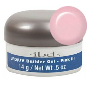LED/UV Builder Gel Pink III, 14 г.