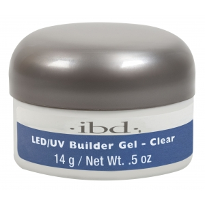 IBD LED/UV Builder Gel Clear, 14 г.