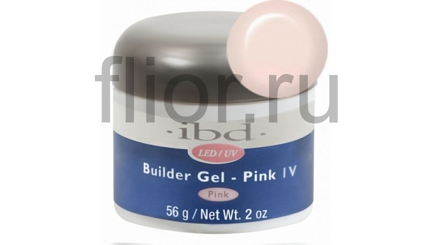 LED/UV Builder Gel Pink IV, 56 г