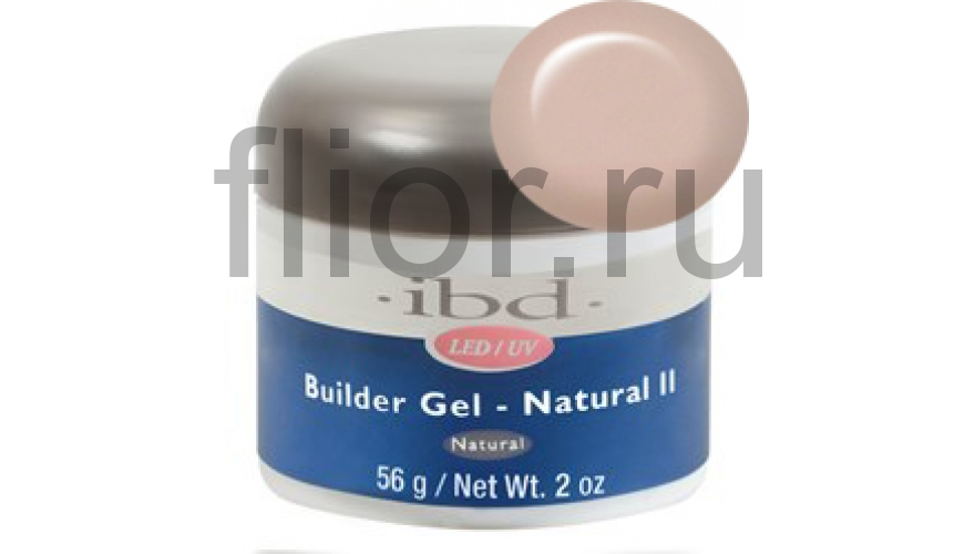 IBD LED/UV Builder Gel Natural II, 56 г