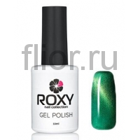 Гель-лак ROXY Cat's eye 166 Зеленый Сапфир 10ml