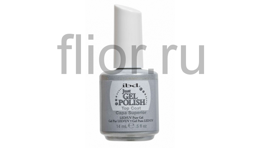 Just Gel Top Coat, 14 мл. - верхнее покрытие для гелевого лака (3 фаза)