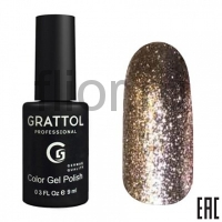 Grattol Color Gel Polish Vegas 08, 9ml
